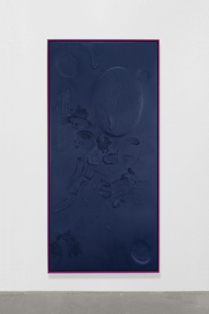 Sapphire Strokes, 2019, 190x90